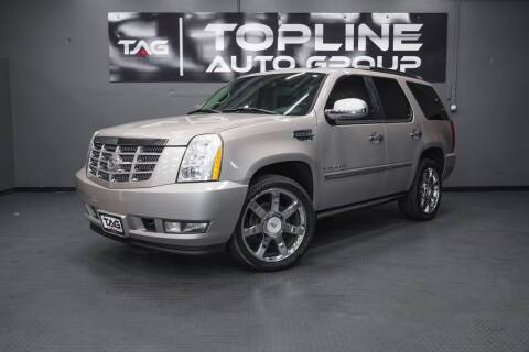 2007 Cadillac Escalade for sale at TOPLINE AUTO GROUP in Kent WA