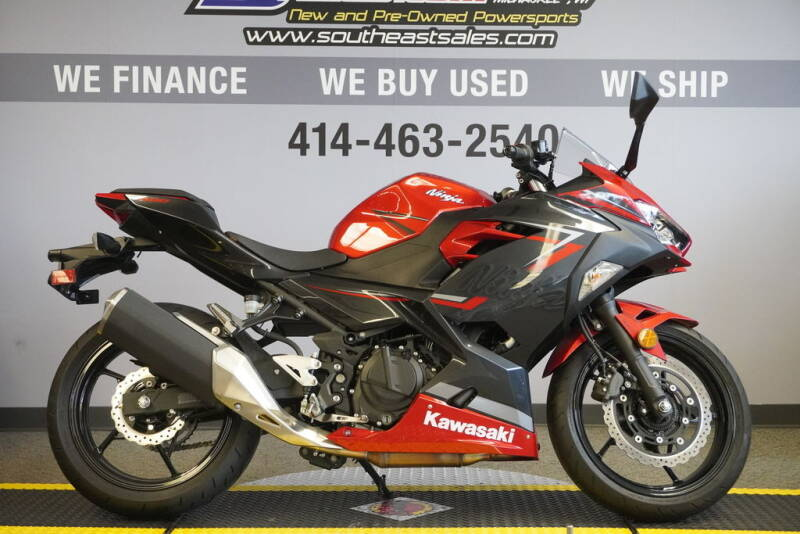 2019 Kawasaki Ninja® 400 ABS Candy Red/ for sale at Southeast Sales Powersports in Milwaukee WI