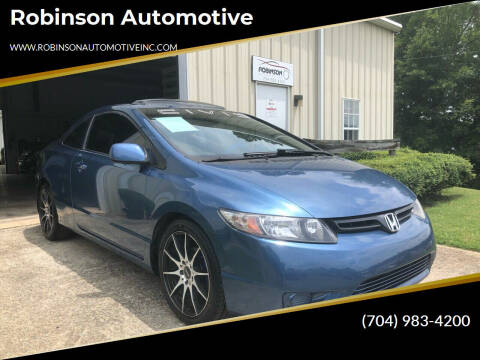 2009 Honda Civic for sale at Robinson Automotive in Albemarle NC