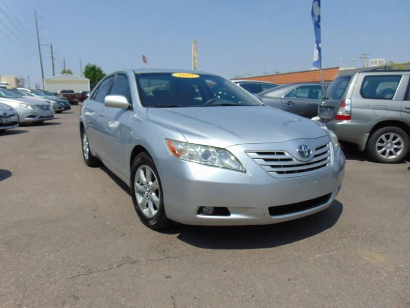 2007 Toyota Camry for sale at Avalanche Auto Sales in Denver CO
