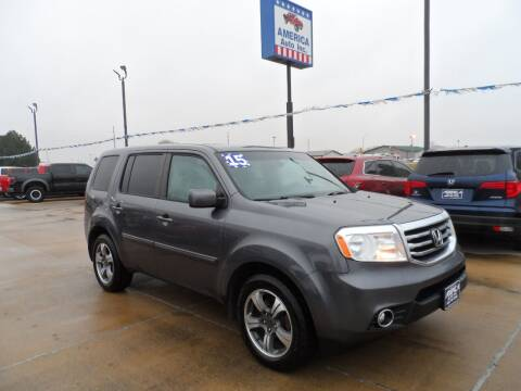 2015 Honda Pilot for sale at America Auto Inc in South Sioux City NE