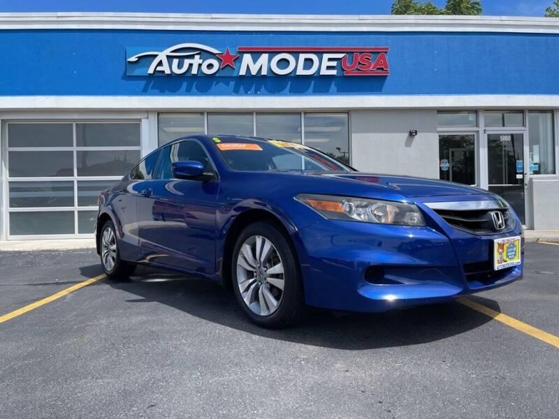 2011 Honda Accord for sale at AUTO MODE USA-Monee in Monee IL