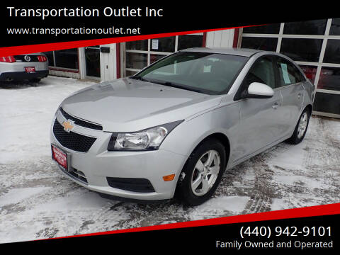 2012 Chevrolet Cruze for sale at Transportation Outlet Inc in Eastlake OH