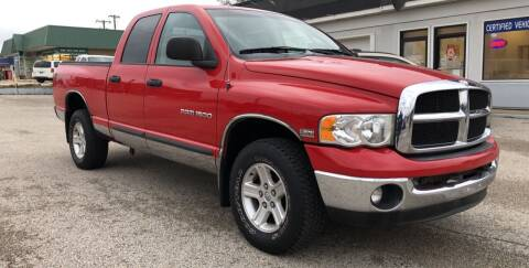 2003 Dodge Ram Pickup 1500 for sale at Perrys Certified Auto Exchange in Washington IN