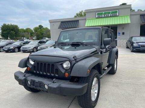 2012 Jeep Wrangler for sale at Cross Motor Group in Rock Hill SC