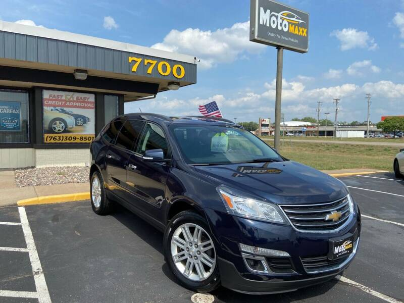 2015 Chevrolet Traverse for sale at MotoMaxx in Spring Lake Park MN