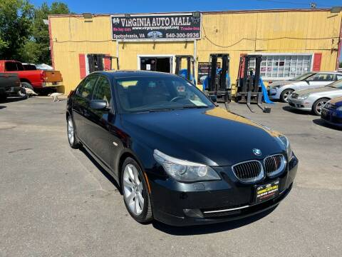 2008 BMW 5 Series for sale at Virginia Auto Mall in Woodford VA