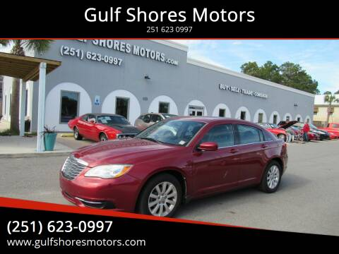 2013 Chrysler 200 for sale at Gulf Shores Motors in Gulf Shores AL