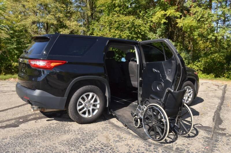 2018 Chevrolet Traverse for sale at Mobility Motors LLC - A Wheelchair Van in Battle Creek MI