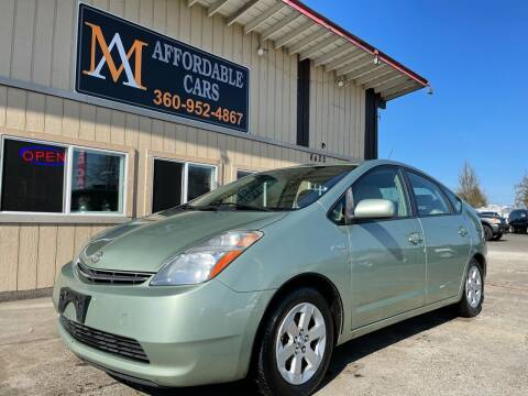 2008 Toyota Prius for sale at M & A Affordable Cars in Vancouver WA