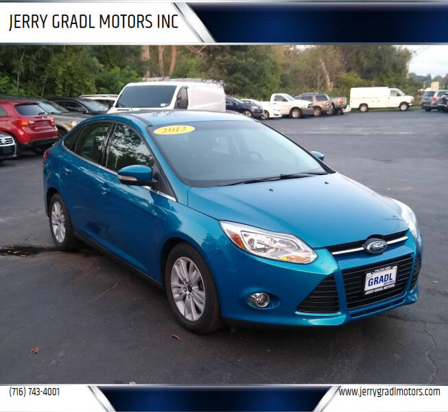 2012 Ford Focus for sale at JERRY GRADL MOTORS INC in North Tonawanda NY