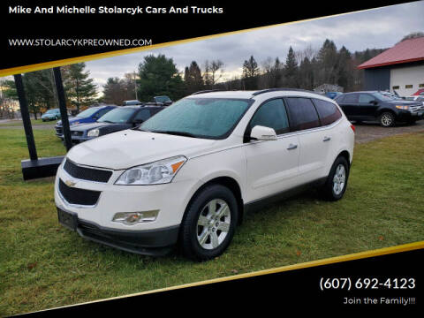 2011 Chevrolet Traverse for sale at Mike and Michelle Stolarcyk Cars and Trucks in Whitney Point NY