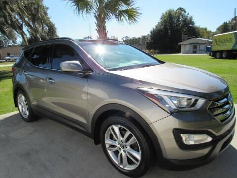 2014 Hyundai Santa Fe Sport for sale at D & R Auto Brokers in Ridgeland SC