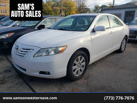 2007 Toyota Camry for sale at SAM'S AUTO SALES in Chicago IL