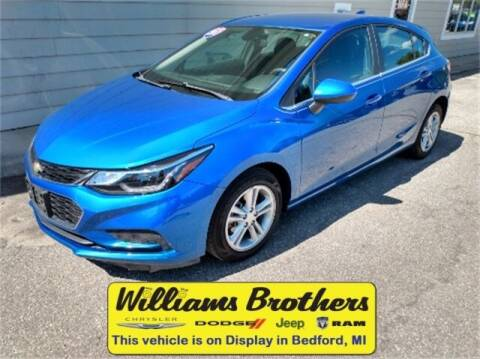 2017 Chevrolet Cruze for sale at Williams Brothers - Pre-Owned Monroe in Monroe MI