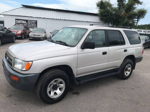 1998 Toyota 4Runner for sale at Cartina in Tampa FL