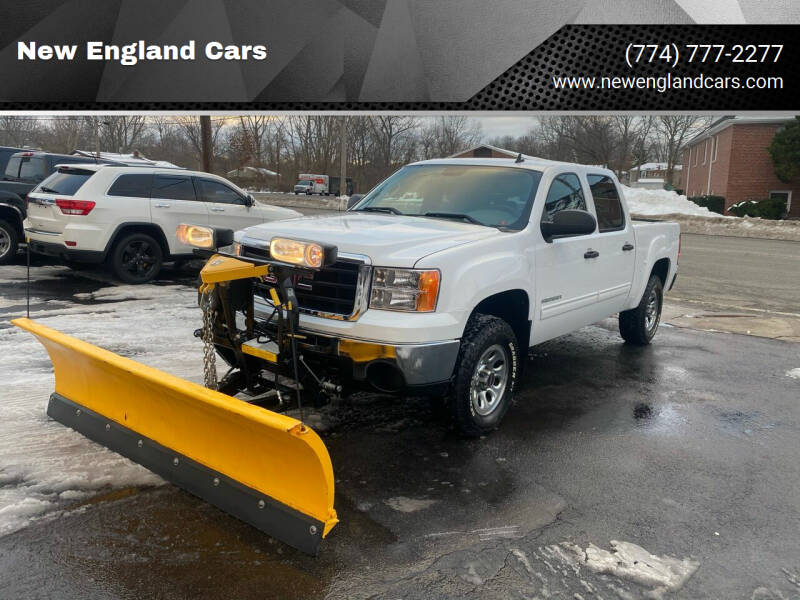 2011 GMC Sierra 1500 for sale at New England Cars in Attleboro MA
