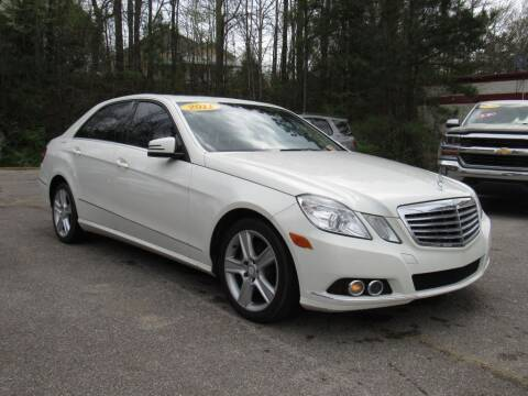 2011 Mercedes-Benz E-Class for sale at Discount Auto Sales in Pell City AL