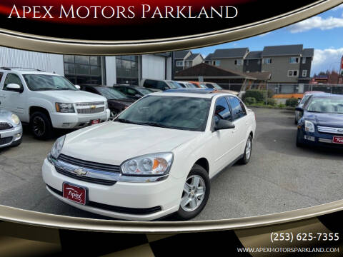 2005 Chevrolet Malibu for sale at Apex Motors Parkland in Tacoma WA