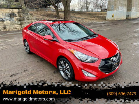 2013 Hyundai Elantra Coupe for sale at Marigold Motors, LLC in Pekin IL