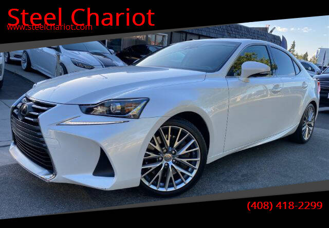 2018 Lexus IS 300 for sale at Steel Chariot in San Jose CA
