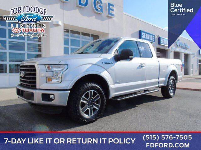2015 Ford F-150 for sale at Fort Dodge Ford Lincoln Toyota in Fort Dodge IA