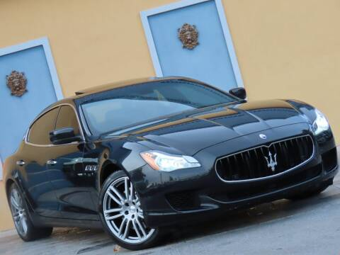 2016 Maserati Quattroporte for sale at Paradise Motor Sports LLC in Lexington KY