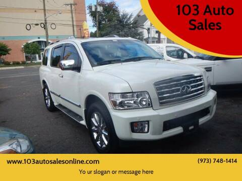 2010 Infiniti QX56 for sale at 103 Auto Sales in Bloomfield NJ