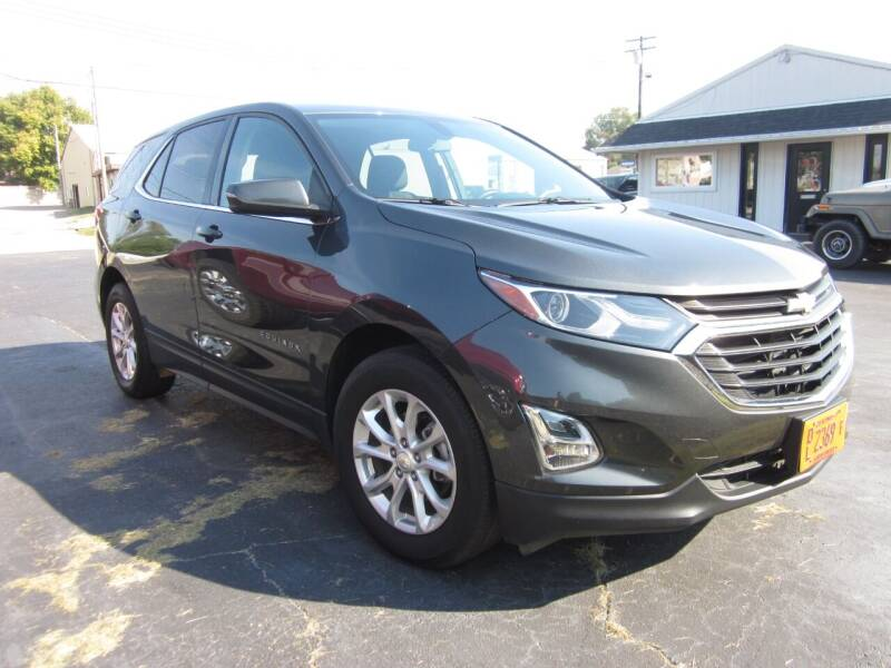 2018 Chevrolet Equinox for sale at JANSEN'S AUTO SALES MIDWEST TOPPERS & ACCESSORIES in Effingham IL