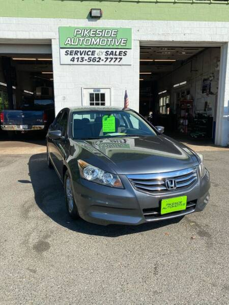 2012 Honda Accord for sale at Pikeside Automotive in Westfield MA