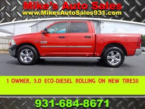 2016 RAM Ram Pickup 1500 for sale at Mike's Auto Sales in Shelbyville TN