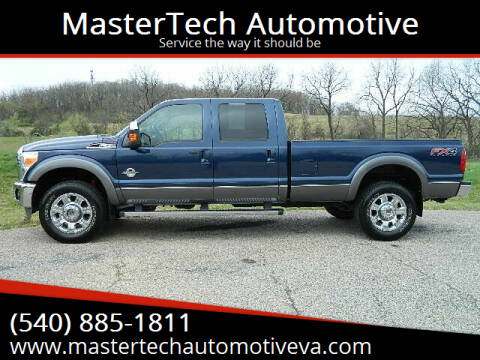 2013 Ford F-350 Super Duty for sale at MasterTech Automotive in Staunton VA