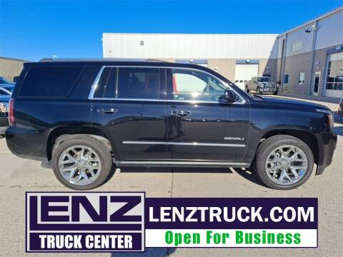 2019 GMC Yukon for sale at LENZ TRUCK CENTER in Fond Du Lac WI
