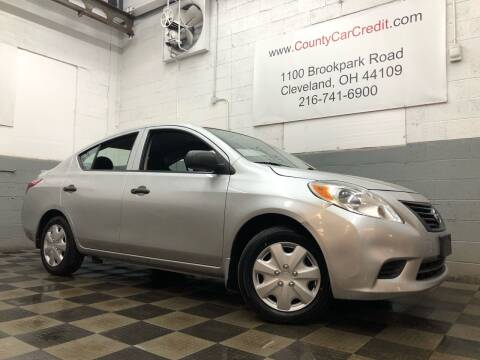 2013 Nissan Versa for sale at County Car Credit in Cleveland OH