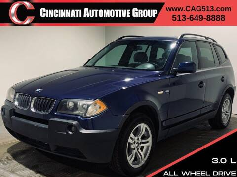 2004 BMW X3 for sale at Cincinnati Automotive Group in Lebanon OH
