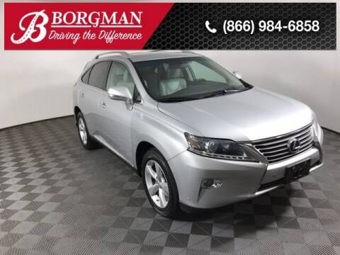 2013 Lexus RX 350 for sale at BORGMAN OF HOLLAND LLC in Holland MI