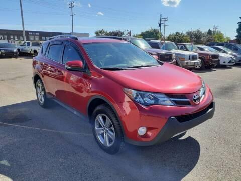 2015 Toyota RAV4 for sale at Tower Motors in Brainerd MN