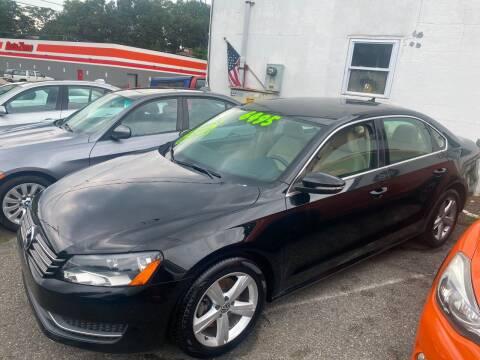 2012 Volkswagen Passat for sale at Washington Auto Repair in Washington NJ
