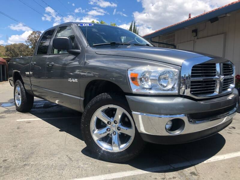 2008 Dodge Ram Pickup 1500 for sale at Martinez Truck and Auto Sales in Martinez CA
