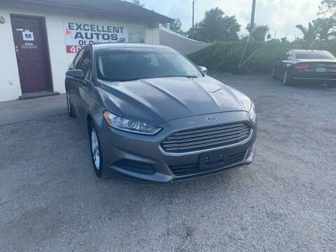 2013 Ford Fusion for sale at Excellent Autos of Orlando in Orlando FL