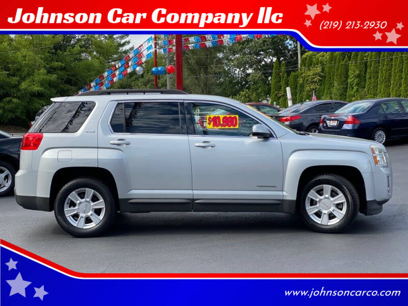 2011 GMC Terrain for sale at Johnson Car Company llc in Crown Point IN