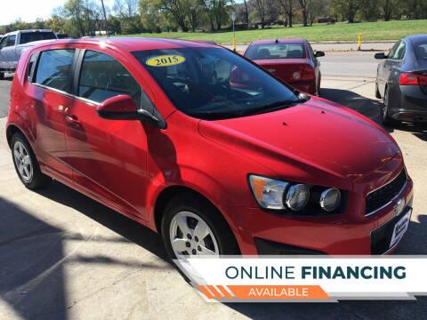 2015 Chevrolet Sonic for sale at MARIETTA MOTORS LLC in Marietta OH