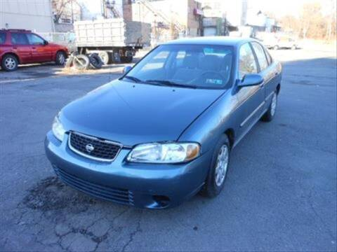 2002 Nissan Sentra for sale at CASTLE AUTO AUCTION INC. in Scranton PA