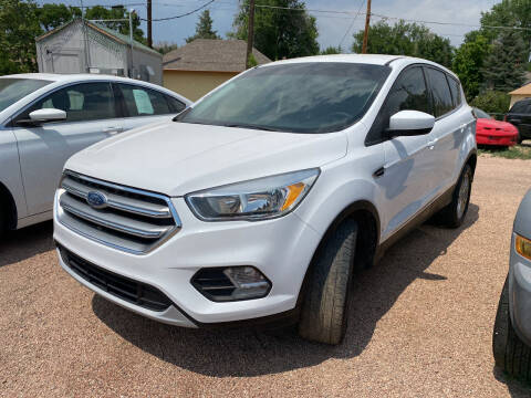 2017 Ford Escape for sale at PYRAMID MOTORS AUTO SALES in Florence CO