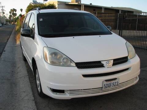 2004 Toyota Sienna for sale at M&N Auto Service & Sales in El Cajon CA