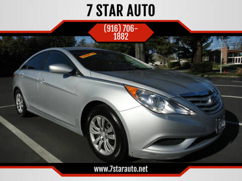 2012 Hyundai Sonata for sale at 7 STAR AUTO in Sacramento CA