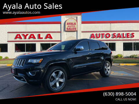 2015 Jeep Grand Cherokee for sale at Ayala Auto Sales in Aurora IL