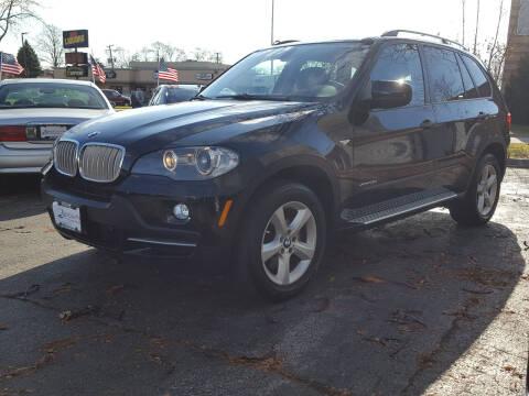 2009 BMW X5 for sale at AUTOSAVIN in Elmhurst IL