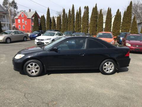 2004 Honda Civic for sale at Auto Kraft in Agawam MA