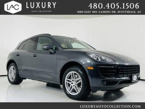 2018 Porsche Macan for sale at Luxury Auto Collection in Scottsdale AZ